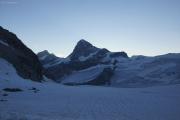 Cab. de Bertol --> Schönbielhütte |  Glacier du Mont Miné, Dent Blanche