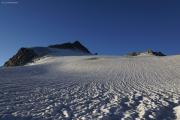 Cab. de Bertol --> Schönbielhütte |  Glacier du Mont Miné, Dents de Bertol