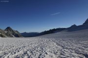 Cab. de Bertol --> Schönbielhütte |  Glacier du Mont Miné. Blanche de Perroc, Wildstrubel, Rinderhorn, Grand Cornier