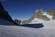 Cab. de Bertol --> Schönbielhütte | Glacier du Mont Miné. Col und Dents des Bouquetins