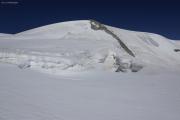 Cab. de Bertol --> Schönbielhütte |  Abstieg vom Tête Blanche über den Stockjigletscher