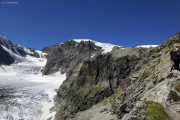 Cab. de Bertol --> Schönbielhütte |  Steiler Weg am Stockji, runter an den Zmuttgletscher