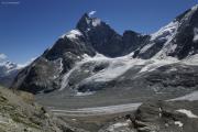 Cab. de Bertol --> Schönbielhütte   Zmuttgletscher, Matterhorn
