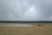Tropischer Regen auf Chale Island, Kenia