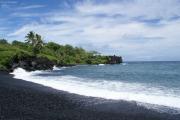 Entlang der Road to Hana, Wai'anapanapa State Park, Maui, Hawai'i