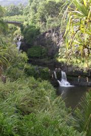 Pools in 'Ohe'o Gulch bei Kipahulu, Haleakala National Park, Maui, Hawaii