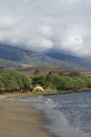 Kanaapali Beach bei Laheina, West-Maui, Hawai'i