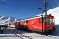 Deh 4/4 I 54 mit Pendelzug für Skifahrer in Nätschen