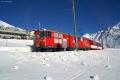 Deh 4/4 I 22 mit einem Autotransportzug nach Andermatt in Nätschen