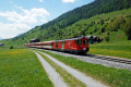 Regionalzug mit Deh 4/4 I 53 erreicht Münster