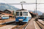 Montreux–Berner Oberland-Bahn MOB. Zweisimmen, 1982