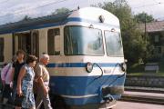 Montreux–Berner Oberland-Bahn MOB. Lenk, 1982