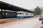 Montreux–Berner Oberland-Bahn MOB.  Montreux,1982