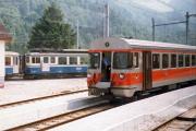 Montreux–Berner Oberland-Bahn MOB. Montbovon, 1982