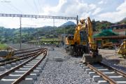 Montreux-Berner Oberland-Bahn MOB, Neubau Bhf Montbovon