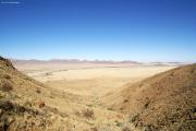 Rivier in Ausläufern der Namib-Wüste. Gästefarm Ababis.
