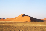 "Sanddüne ""Dune 45"" in der Namib bei Sossusvlei"