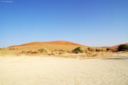 Sanddüne in der Namib am Sossusvlei