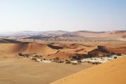 Dünenlandschaft in der Namib. Sossusvlei