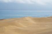 Sanddünen der Namib-Wüste an der Atlantikküste bei Swakopmund