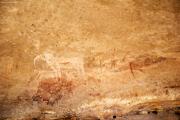 Weisser Elefant in der Phillips-Höhle. Ameib-Farm. Ca. 3000 v.Chr.