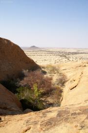 Bei Bushman's Paradise in der Nähe der Spitzkoppe