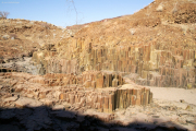 """""""Orgelpfeifen"""" bei Twyfelfontein"""