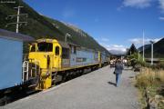 Arthur's Pass. Railway Station