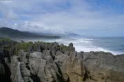 Pancake Rocks bei Punakaiki (40km N von Greymouth)