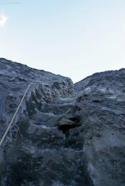 Eistreppe im Franz Josef Glacier