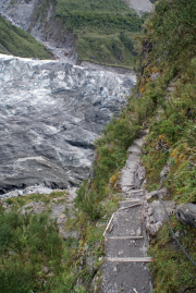 Am Fox Glacier - vertigo?