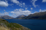Lake Wakatipu zwischen Queenstown und Glenorchy