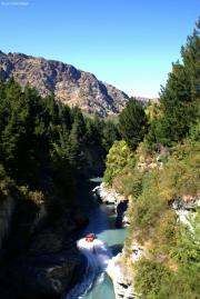 Shotover Jet im Canyon bei Queenstown