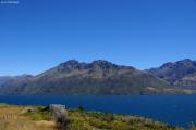 Lake Wakatipu zwischen Qeenstown und Kingston