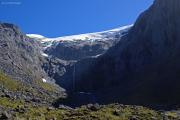 Gletscher beim Eingang des Homer Tunnels