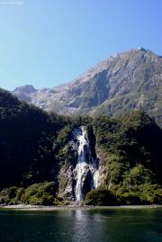 Milford Sound. Bowen Falls