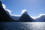 Milford Sound. Mitre Peak
