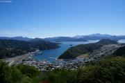 Picton. Marlborough Sounds. Ab hier geht's per Schiff nach Wellington