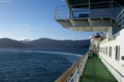 Marlborough Sounds bei Piction. Fahrt nach Wellington