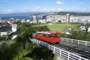 Wellington. Cable Car und Universität