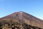 """Tongariro Crossing. Mt. Ngauruhoe (2287müM) - """"Mt. Doom"""". Vor dem Aufstieg"""