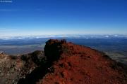 Mt. Ngauruhoe. Aussicht vom Kraterrand