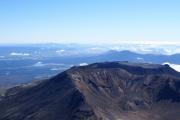Mt. Ngauruhoe. Sicht auf den Mt. Tongariro (1968müM)