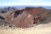 Red Crater. Tongariro Crossing
