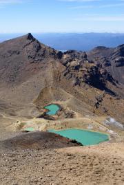 Emerald Lakes. Tongariro Crossing