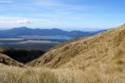 Tongariro Crossing. Ketetahi mit Lake Rotoaira