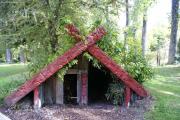 Rotorua. Buried Village - in der Vulkanasche versunkenes Dorf