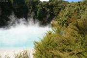 Waimangu Thermal Valley bei Rotorua. Inferno Crater