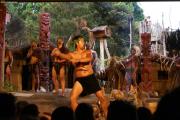 Konzert und Hangi im Mitai Maori Village bei Rotorua