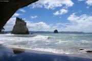 """Cathedral Cove"" bei Hahei. Coromandel Halbinsel"
